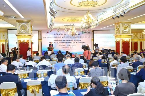 Hoa Lac High-Tech Park lures more RoK investors hinh anh 1