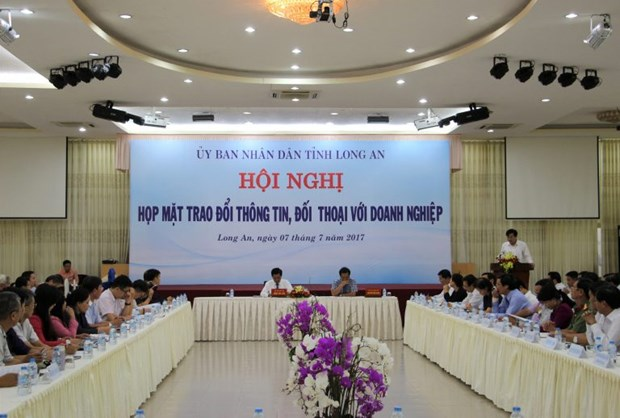 Long An authorities collect feedback from Taiwanese investors hinh anh 1