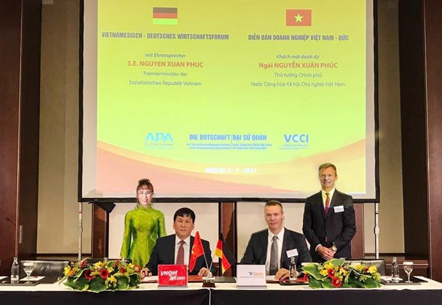 Vietjet Air signs aircraft financing agreement with German group hinh anh 1