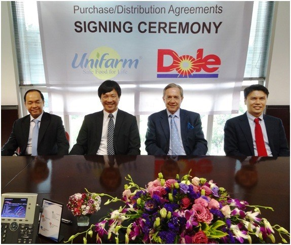 Dole names U&I as Vietnam banana distributor hinh anh 1
