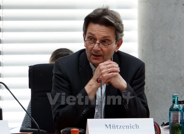 German experts hail Vietnam's role hinh anh 1