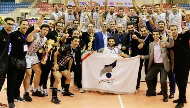 Sarmayeh Bank win Asian volleyball championship title hinh anh 1