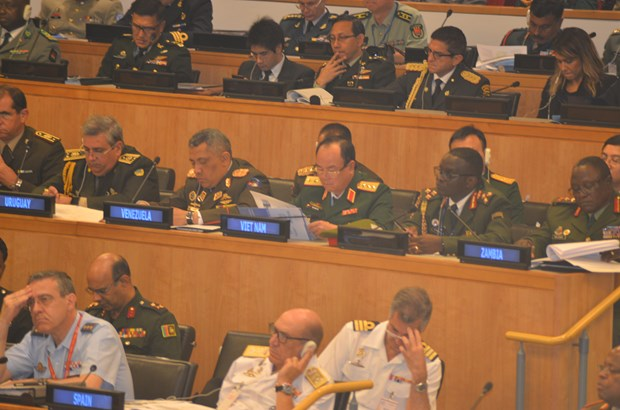 Vietnam attends chiefs of defence conference on UN peacekeeping hinh anh 1
