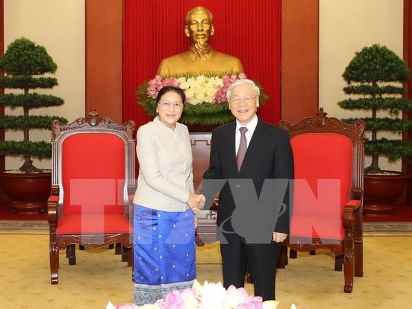 Vietnamese, Lao legislatures urged to bolster ties hinh anh 1