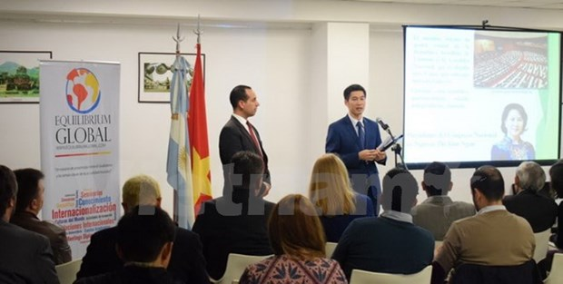 Vietnamese images promoted in Argentina hinh anh 1