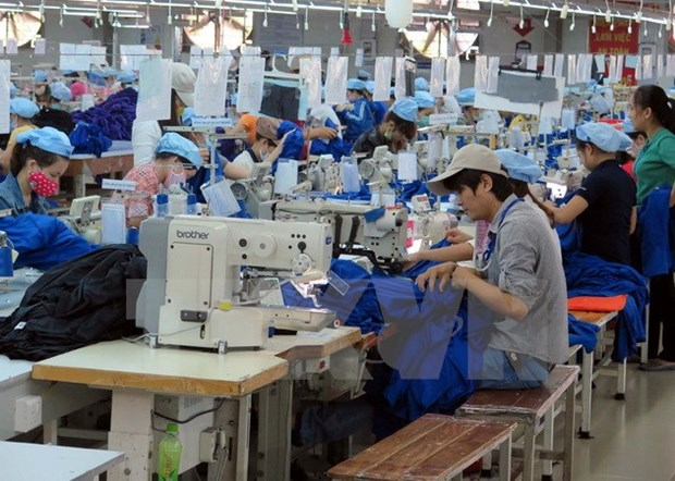 Industrial manufacturing index up in six months hinh anh 1