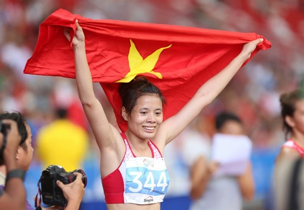 Vietnamese wins gold at Asian athletic event hinh anh 1