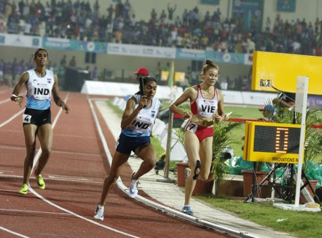 Vietnam bags one more medal at Asian Athletics Championships hinh anh 1