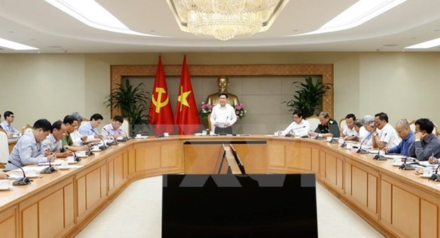 Deputy PM chairs meeting on SOEs restructuring hinh anh 1