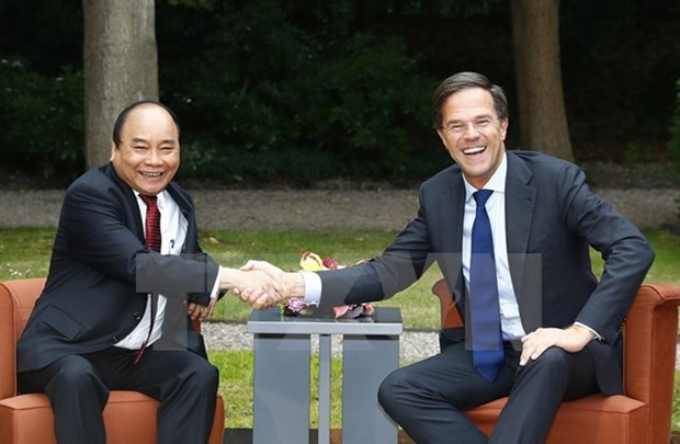 PMs of Vietnam, Netherlands vow to deepen ties hinh anh 1