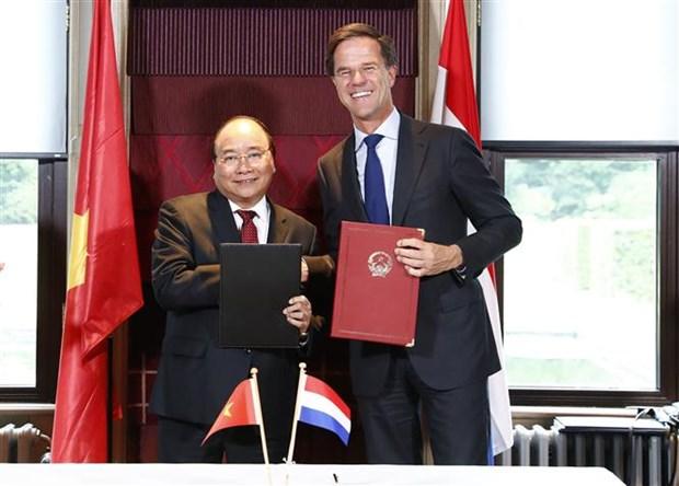 Vietnam-Netherlands Joint Statement hinh anh 1