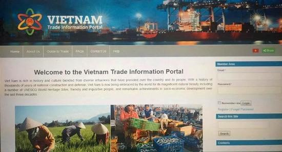 Vietnam trade information portal launched hinh anh 1