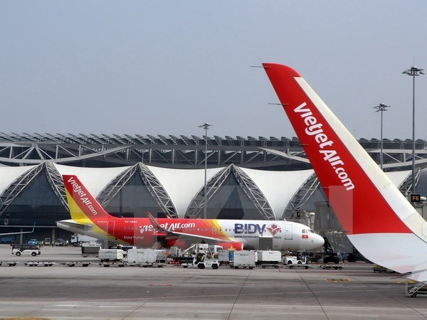 Vietjet offers discounted tickets on all international routes hinh anh 1