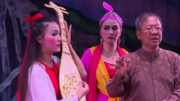 Vietnamese artists to bring new tuong play to RoK hinh anh 1