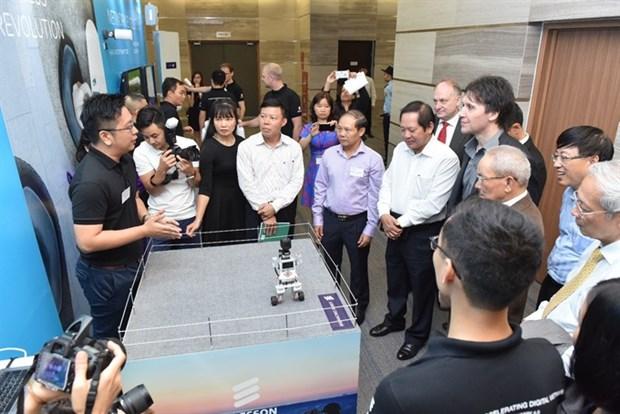 Ericsson, ARFM host Vietnam's first-ever 5G demonstration hinh anh 1