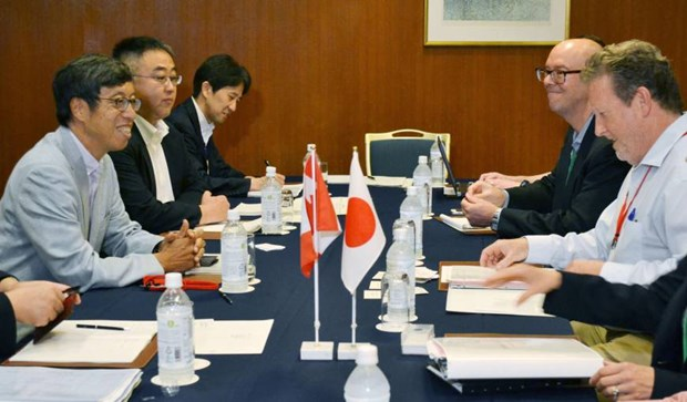 11 TPP states seeks new framework to implement pact hinh anh 1