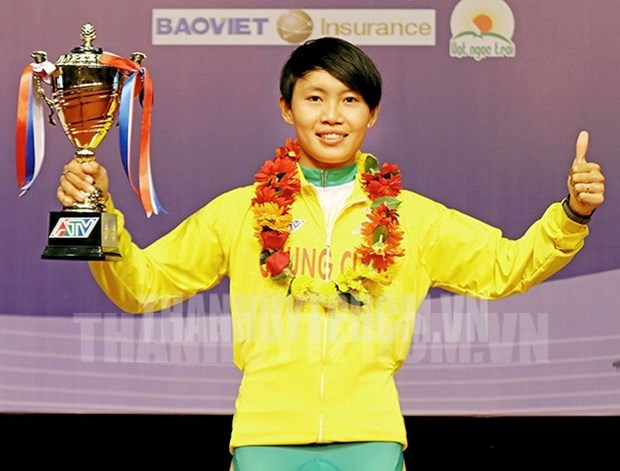 Nguyen Thi That wins national women's open cycling tournament hinh anh 1