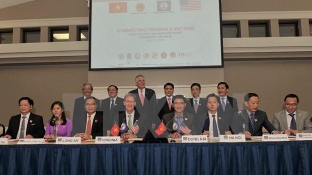 Virginia enhances ties with Vietnamese localities hinh anh 1