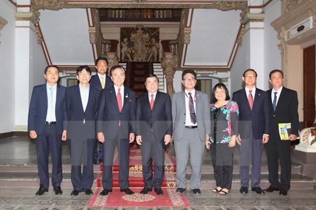 HCM City boosts cooperation with Japanese prefecture hinh anh 1