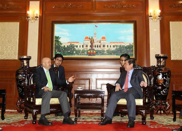 Ho Chi Minh City's leader welcomes former Mexican President hinh anh 1