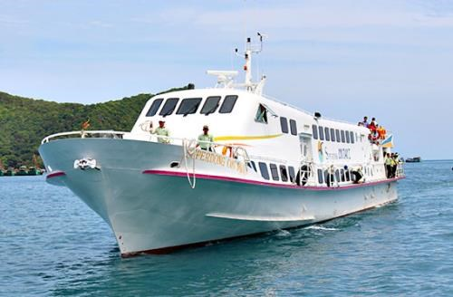 Soc Trang operates sea route to Con Dao islands hinh anh 1