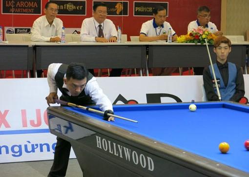 International billiards tourney kicks off in Binh Duong hinh anh 1