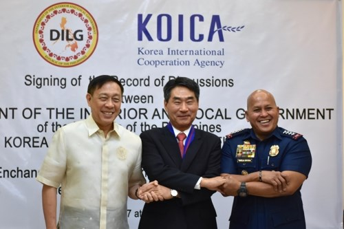 Republic of Korea to help Philippines fight crime hinh anh 1
