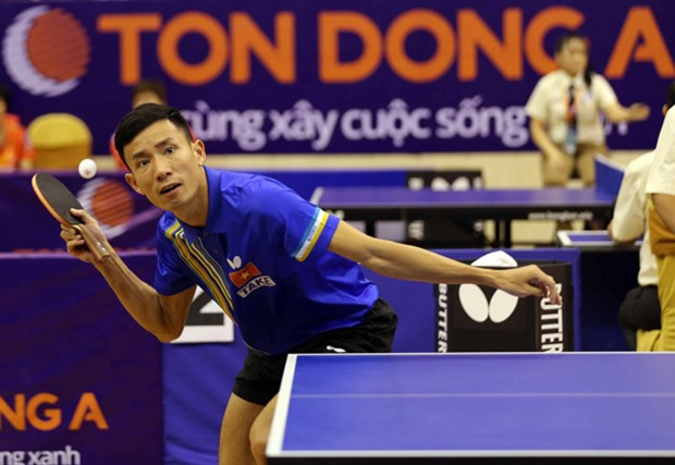 Golden Racket table tennis tourney kicks off in HCM City hinh anh 1