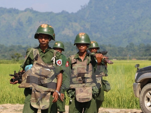 Myanmar: Three people killed in Rakhine mine explosion hinh anh 1