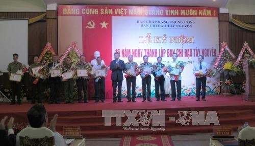 Central Highlands Steering Committee marks 15-year operation hinh anh 1