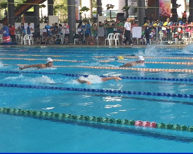 Vietnam grabs first ever swimming gold in regional school games hinh anh 1