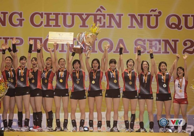 Japanese students team wins VTV Cup hinh anh 1