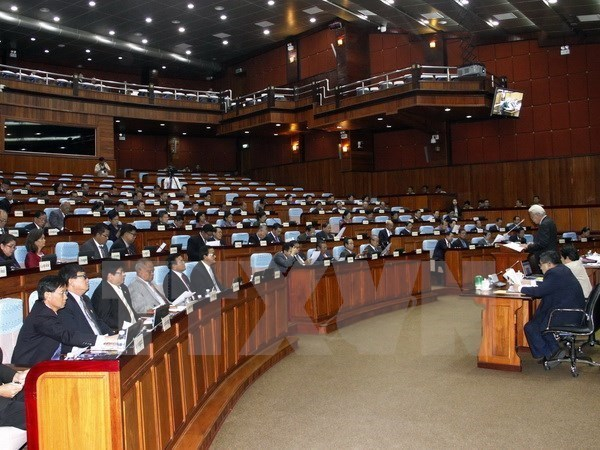 Cambodian Senate passes amendments to law on political parties hinh anh 1