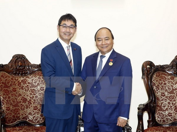 PM welcomes special advisor to Japanese Prime Minister hinh anh 1