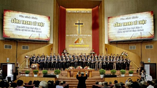 Vietnam Evangelical Church (south) convenes fifth congress hinh anh 1