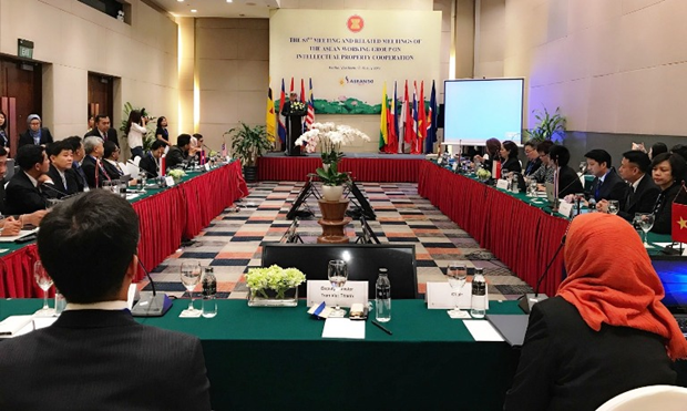 ASEAN countries discuss intellectual property cooperation hinh anh 1