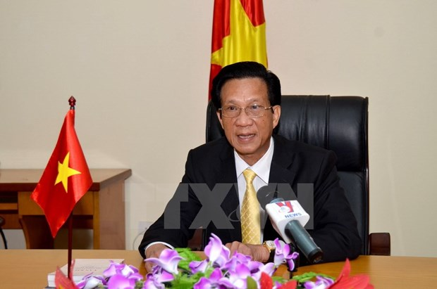 Party chief's upcoming visit to boost Vietnam-Cambodia relations hinh anh 1