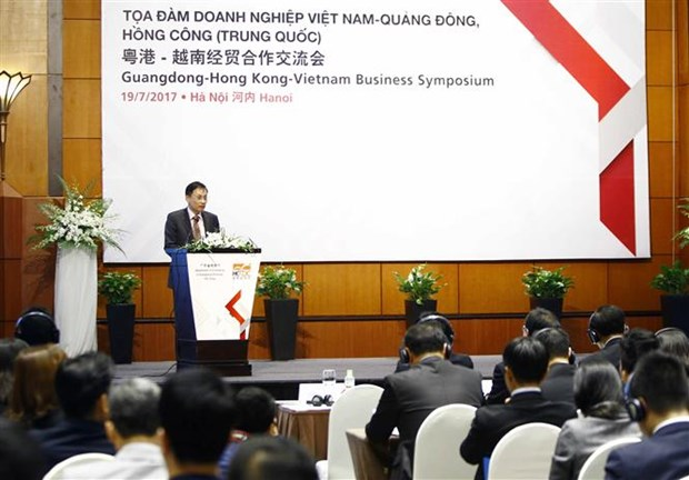 Vietnam, Guangdong, Hong Kong firms seek business opportunities hinh anh 1