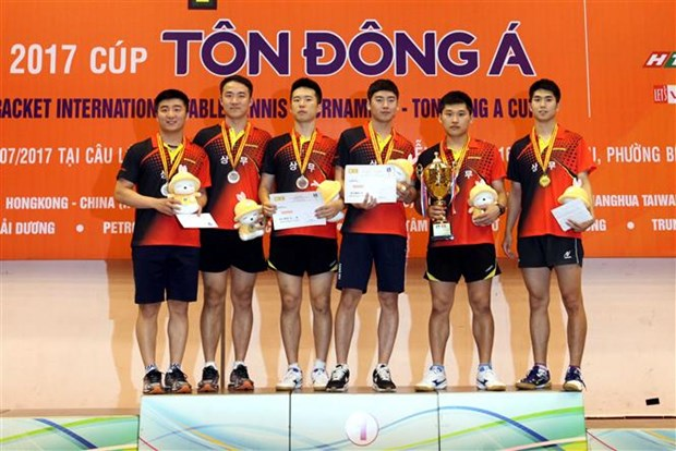 RoK, Thailand win team events at int'l table tennis championship hinh anh 1