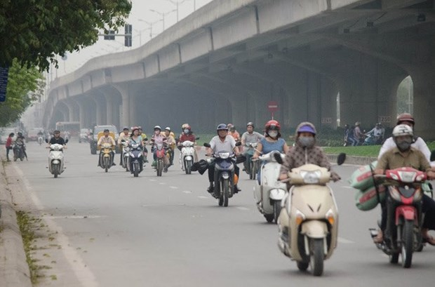 Vietnam's cities discharge 70 percent of total CO2 hinh anh 1