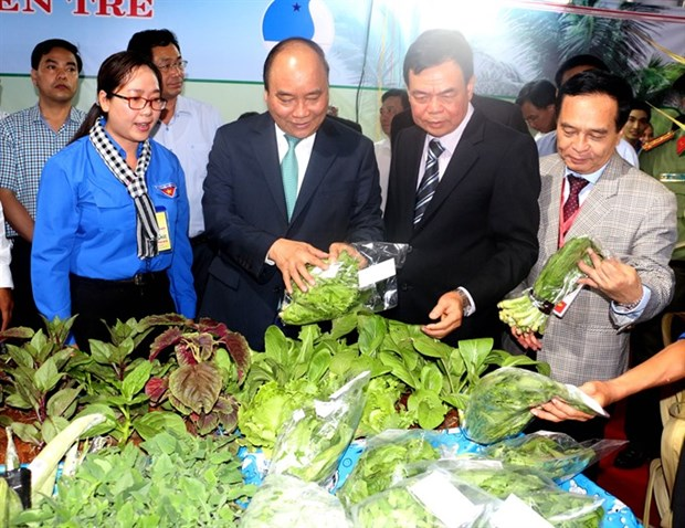 Become entrepreneurs, Prime Minister exhorts youth in Ben Tre hinh anh 1