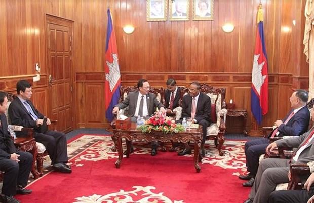 Vietnam, Cambodia build peaceful border line hinh anh 1
