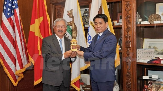 Hanoi seeks stronger cooperation with Utah, San Francisco hinh anh 1
