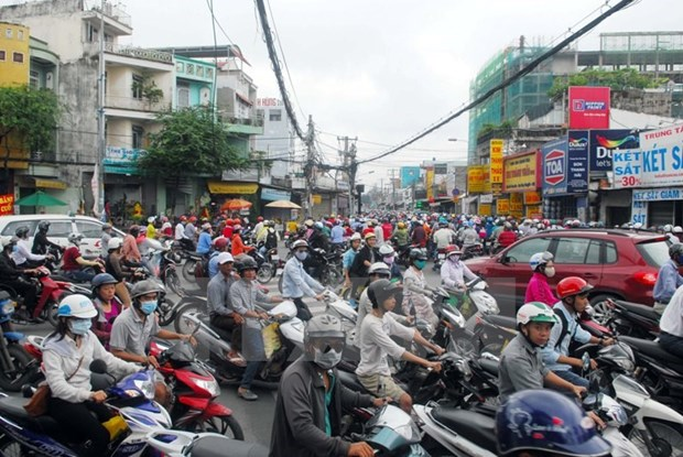 Steering committee for traffic jams prevention in Hanoi, HCM City hinh anh 1