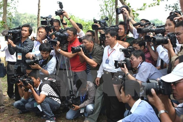 Reporters trained to cover APEC Leaders' Meeting in Da Nang hinh anh 1
