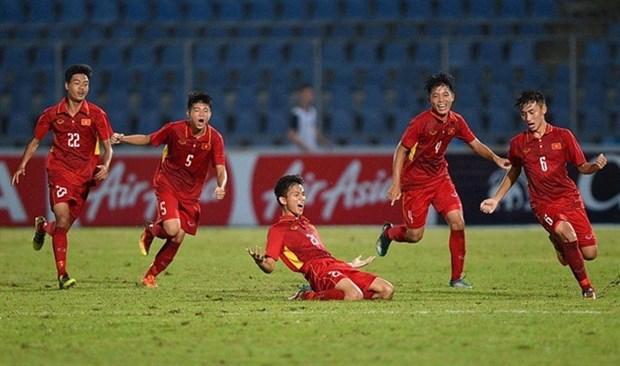 Easy win for U15 Vietnam against Australia hinh anh 1