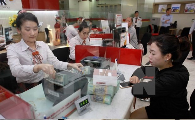 Credit growth reported at 9.06 percent in six months hinh anh 1