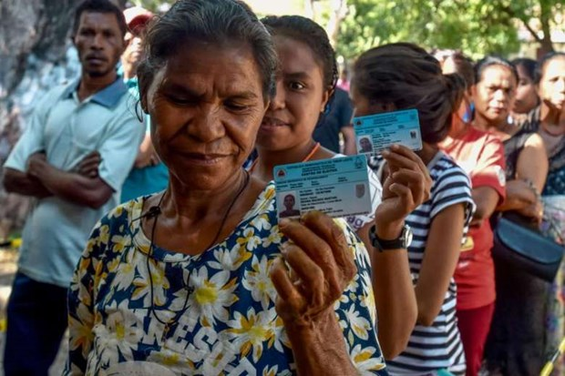 Timor Leste constituents vote for parliament members hinh anh 1