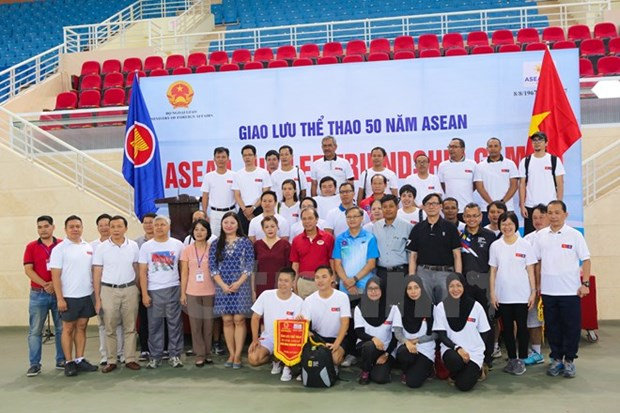 Sport event celebrates ASEAN's founding anniversary hinh anh 1