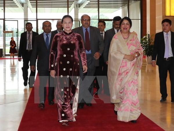 Bangladesh's Parliament Speaker wraps up Vietnam visit hinh anh 1